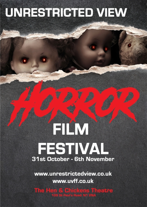 UNRESTRICTED VIEW HORROR FILM FESTIVAL COMES TO LONDON.